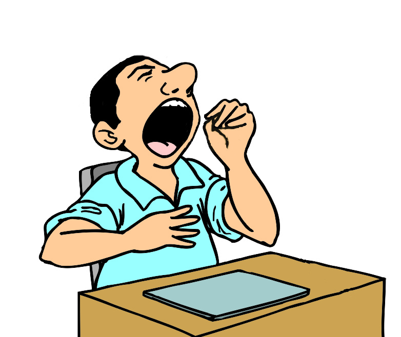 Yawn clipart #6, Download drawings
