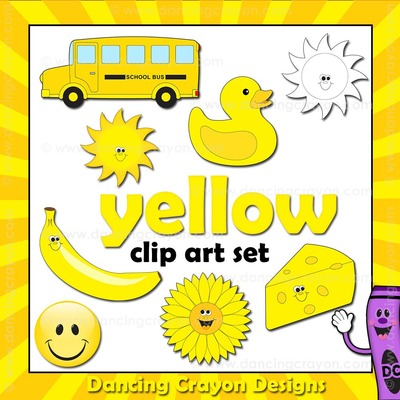 Yellow clipart #12, Download drawings