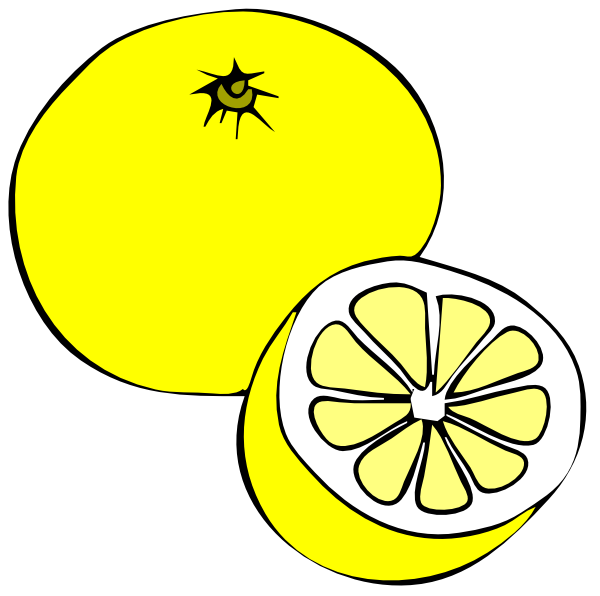 Yellow clipart #2, Download drawings