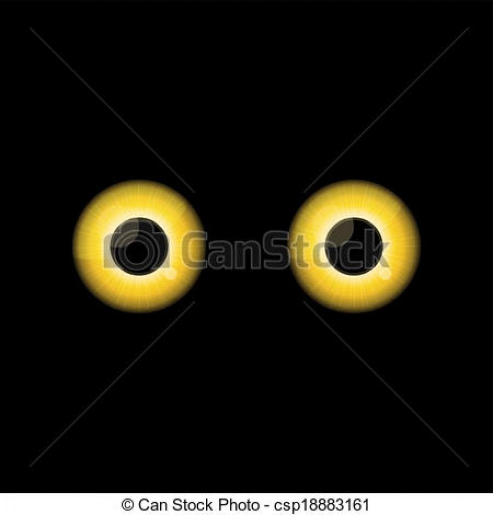 Yellow Eyes clipart #8, Download drawings