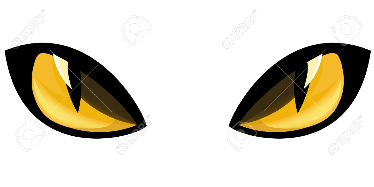 Yellow Eyes clipart #1, Download drawings