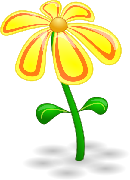 Yellow Flower clipart #8, Download drawings