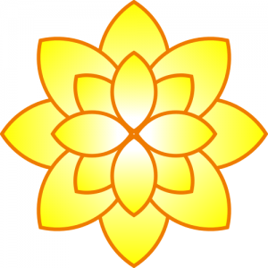 Yellow Flower clipart #5, Download drawings