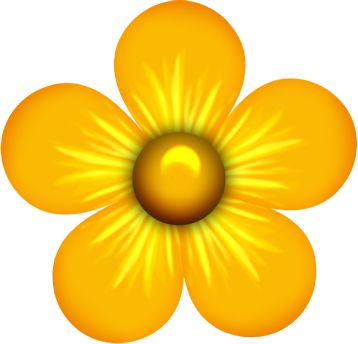 Yellow Flower clipart #9, Download drawings