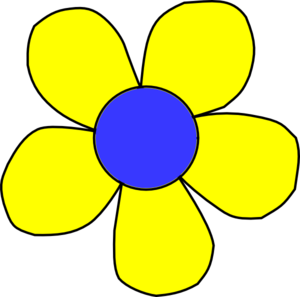 Yellow Flower clipart #12, Download drawings