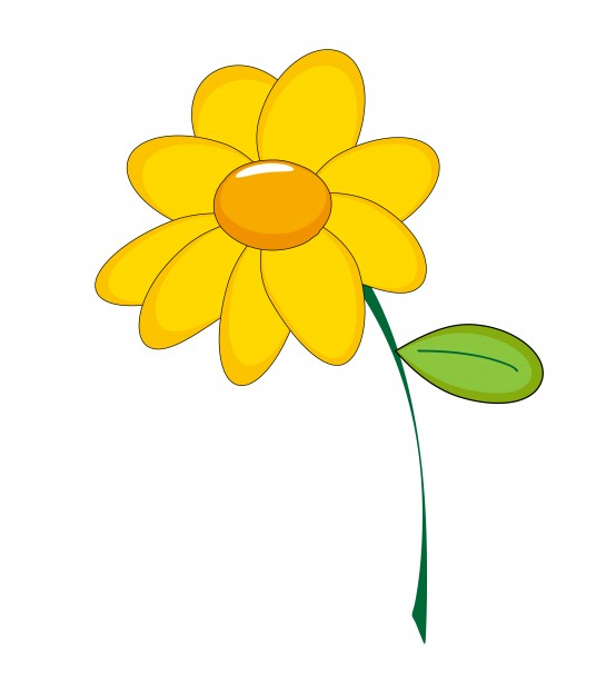 Yellow Flower clipart #7, Download drawings