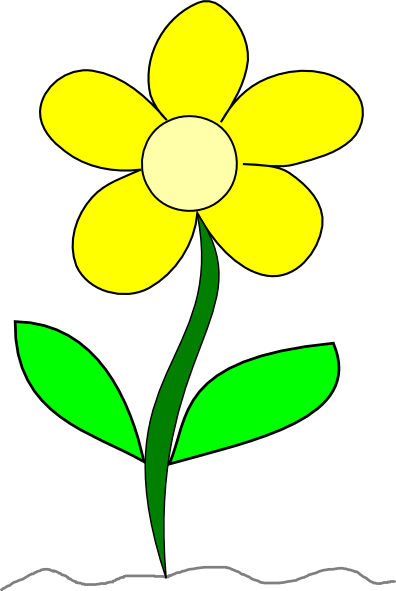 Yellow Flower clipart #19, Download drawings
