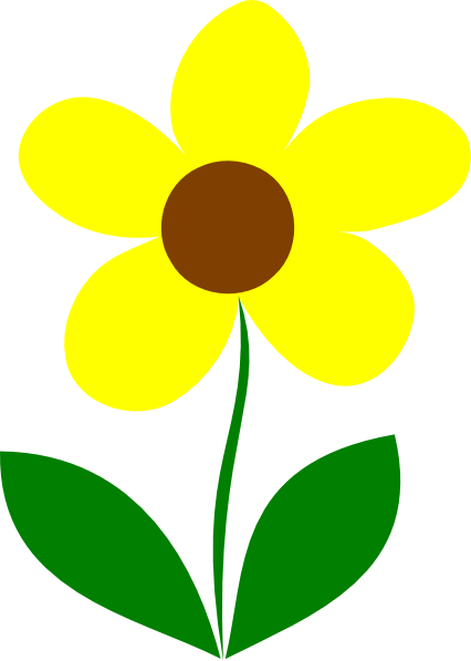 Yellow Flower clipart #16, Download drawings