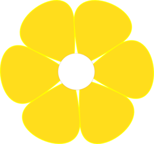 Yellow Flower clipart #15, Download drawings