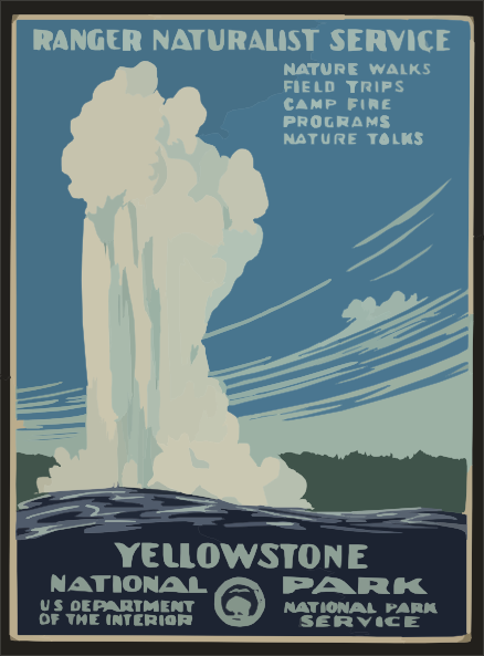 Yellowstone clipart #14, Download drawings