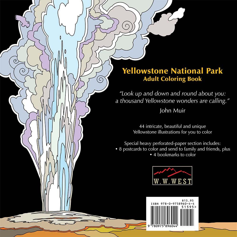 Yellowstone Falls coloring #16, Download drawings