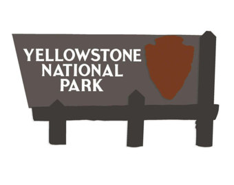 Yellowstone Falls svg #17, Download drawings