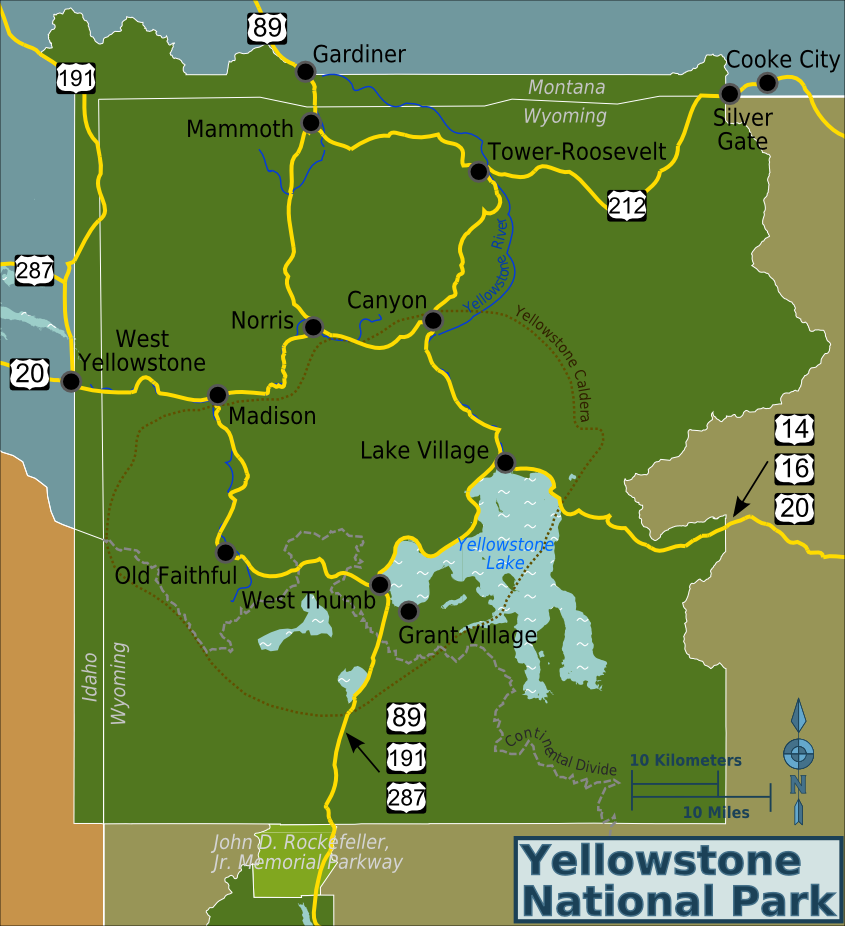 Yellowstone National Park svg #14, Download drawings