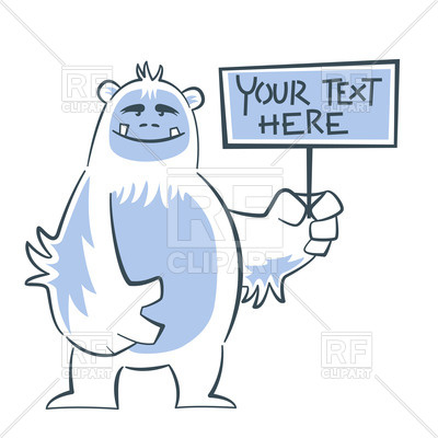 Yeti clipart #6, Download drawings