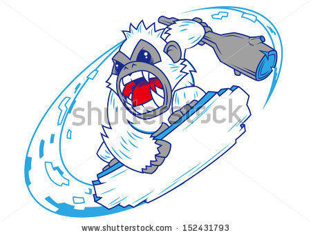 Yeti clipart #9, Download drawings