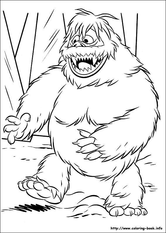 Yeti coloring #14, Download drawings