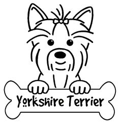 Yorkies clipart #8, Download drawings