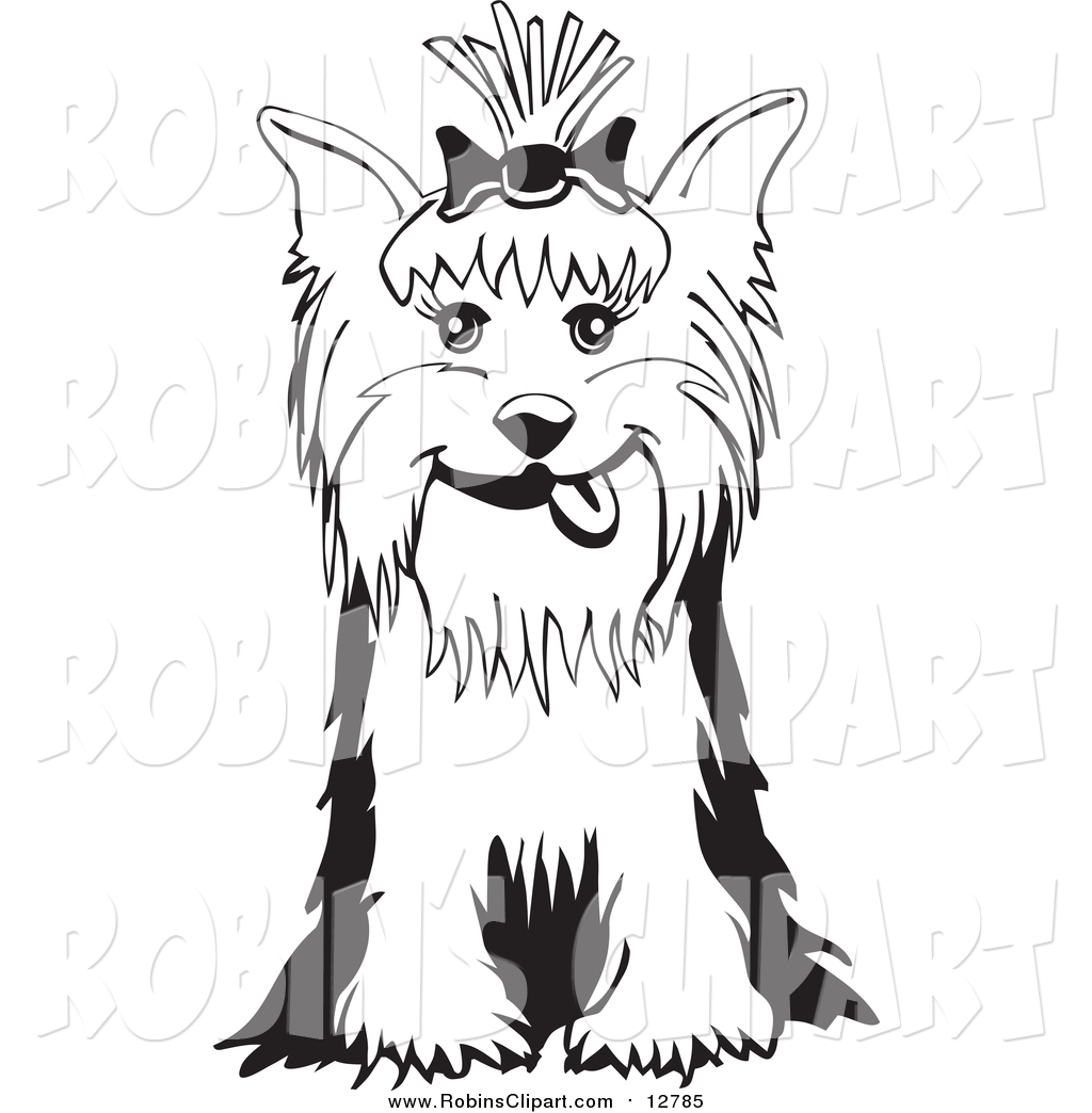 Yorkies clipart #3, Download drawings