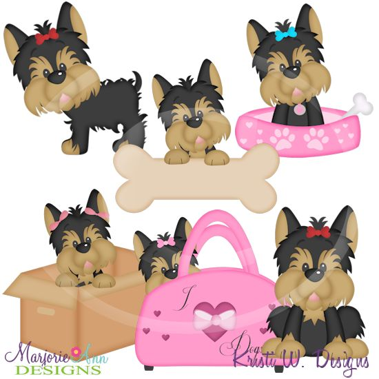 Yorkies clipart #10, Download drawings