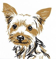 Yorkies clipart #13, Download drawings