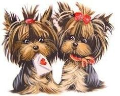 Yorkies clipart #9, Download drawings
