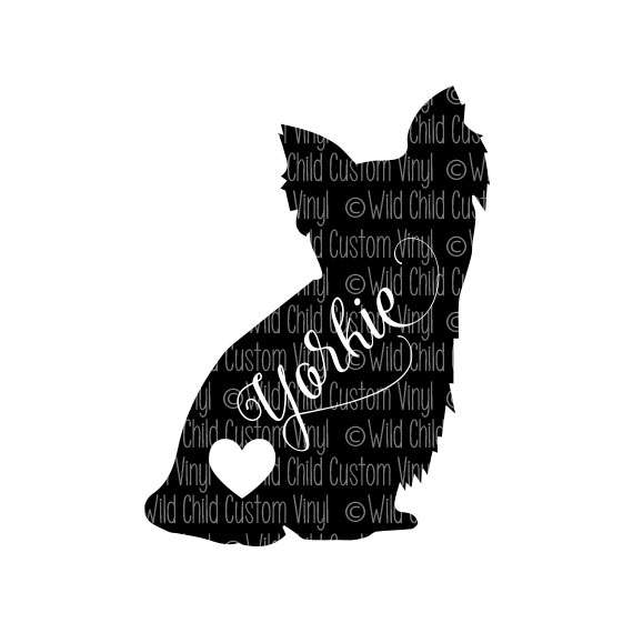 Yorkshire Terrier svg #1, Download drawings