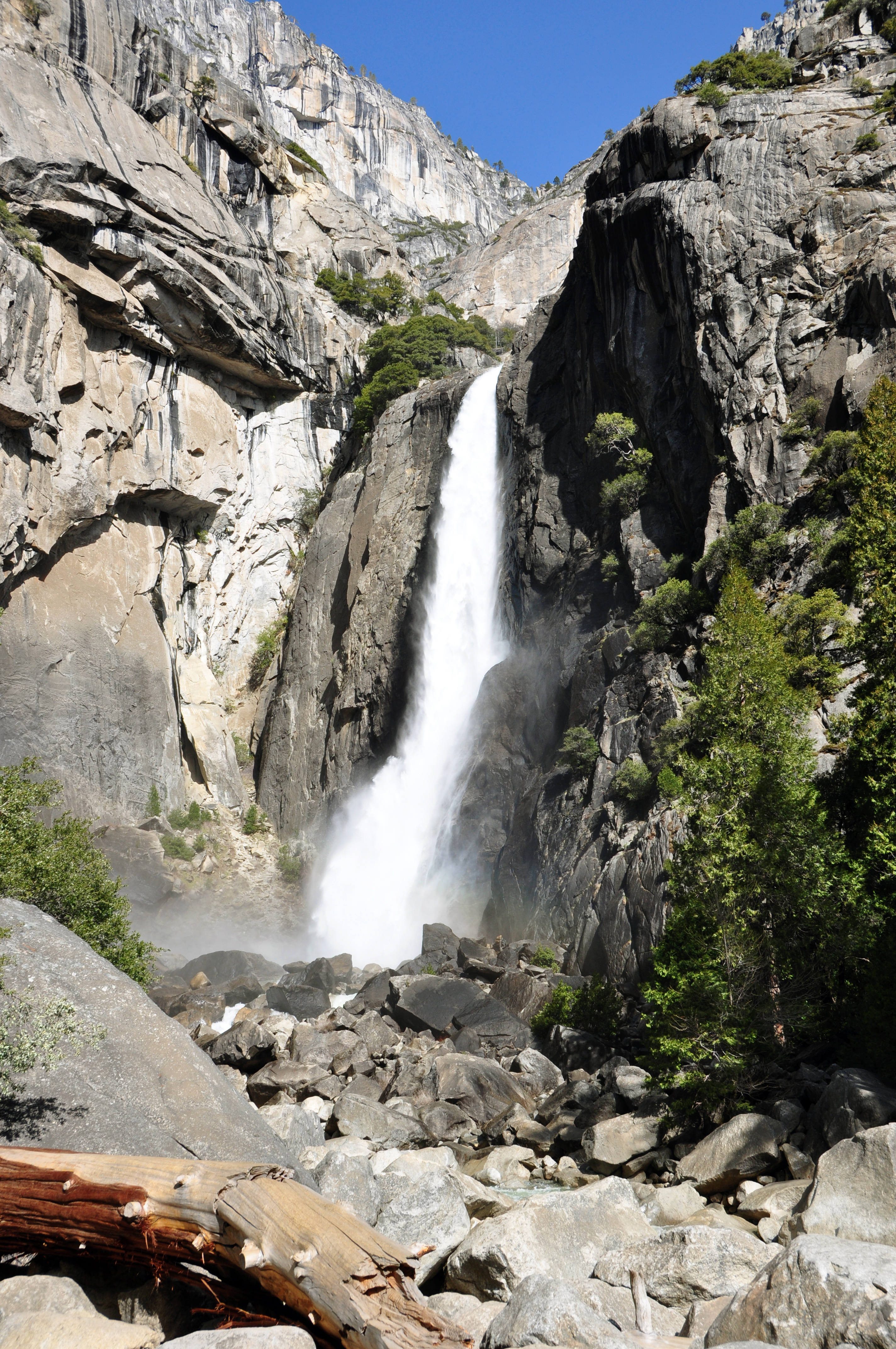 Yosemite Falls svg #2, Download drawings