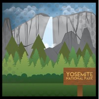 Yosemite National Park svg #14, Download drawings