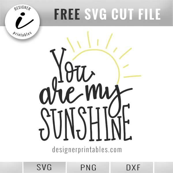 you are my sunshine svg #143, Download drawings