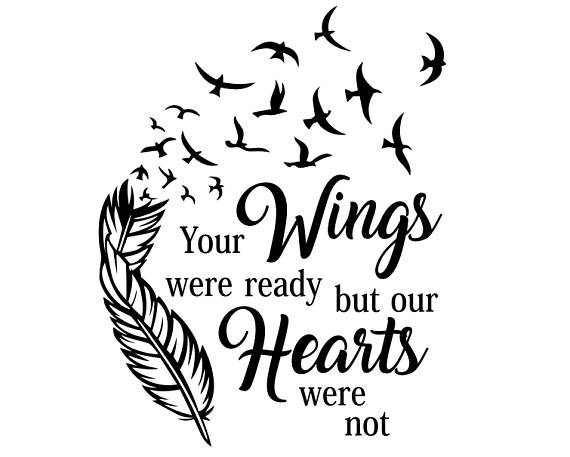 your wings were ready svg #8, Download drawings