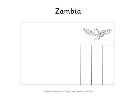 Zambia coloring #19, Download drawings