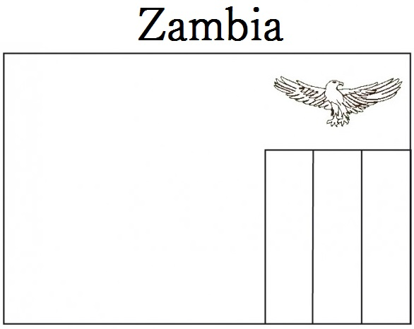 Zambia coloring #17, Download drawings
