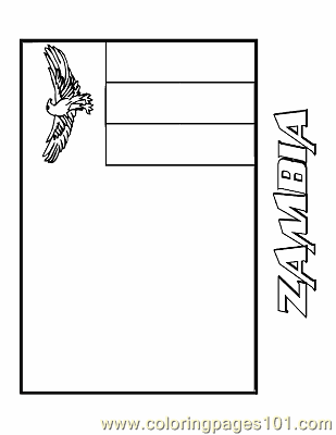 Zambia coloring #16, Download drawings