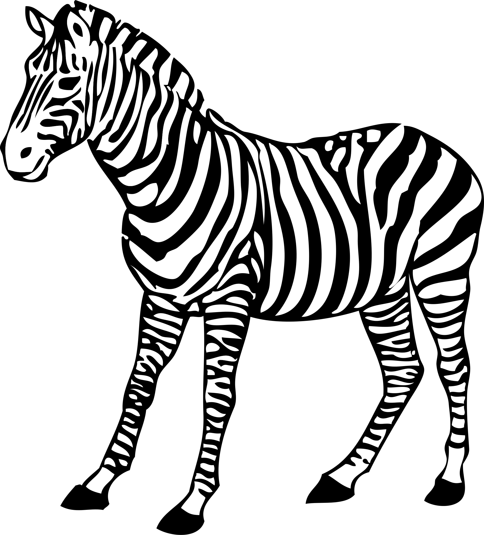 Zebra svg #16, Download drawings