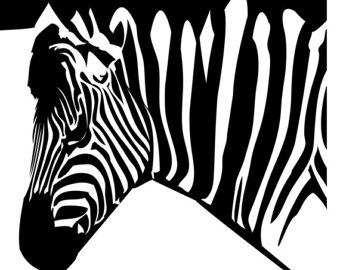 Zebra svg #1, Download drawings