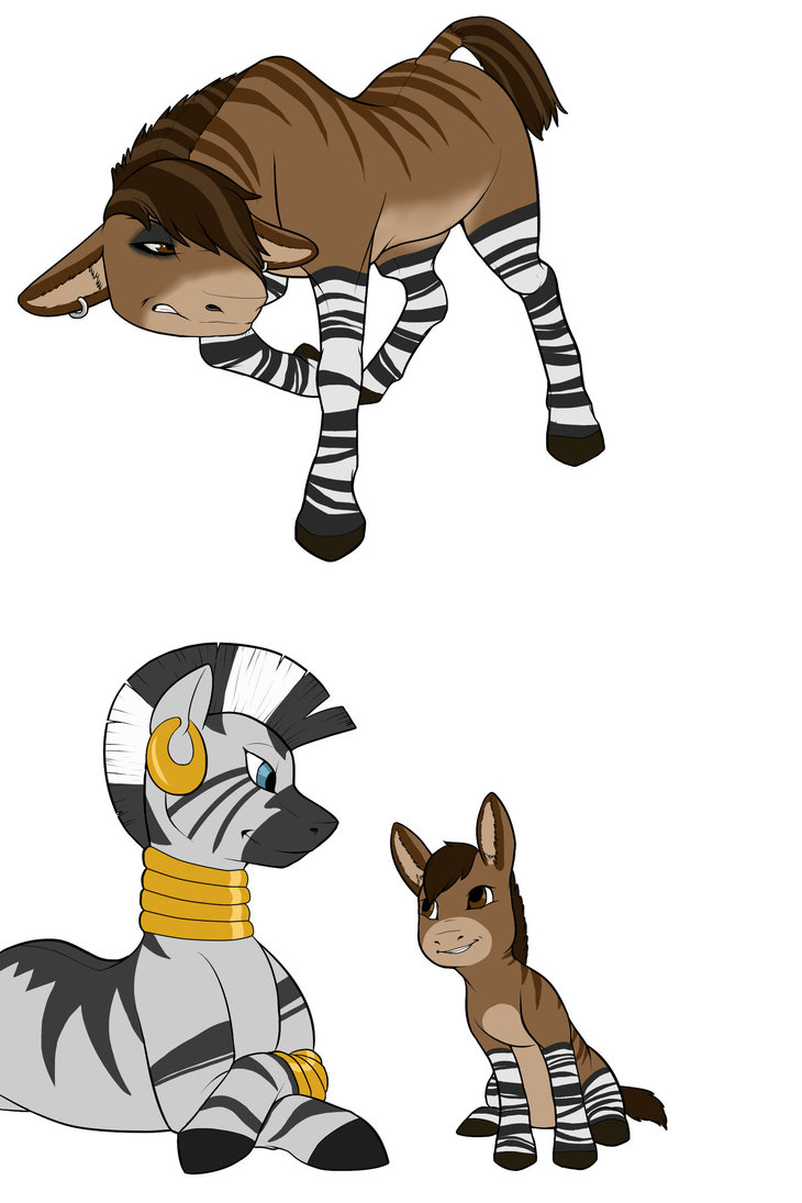 Zebroid clipart #18, Download drawings