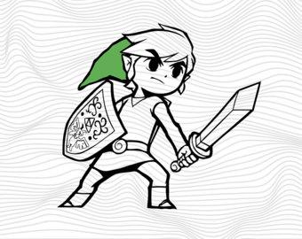 Zelda svg #20, Download drawings
