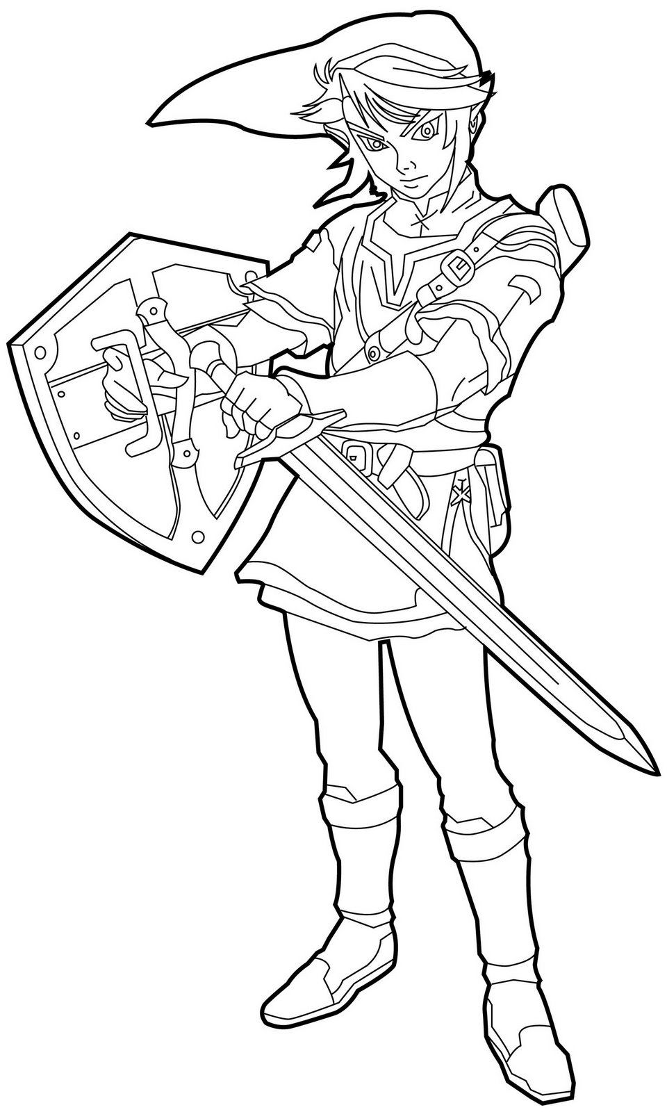 The Legend Of Zelda coloring #18, Download drawings