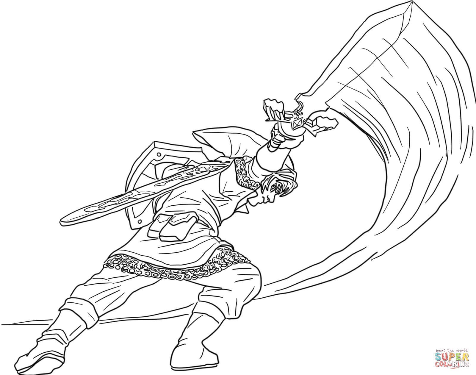 The Legend Of Zelda coloring #5, Download drawings