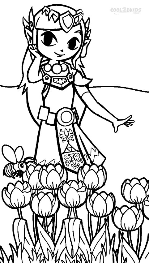 The Legend Of Zelda coloring #8, Download drawings