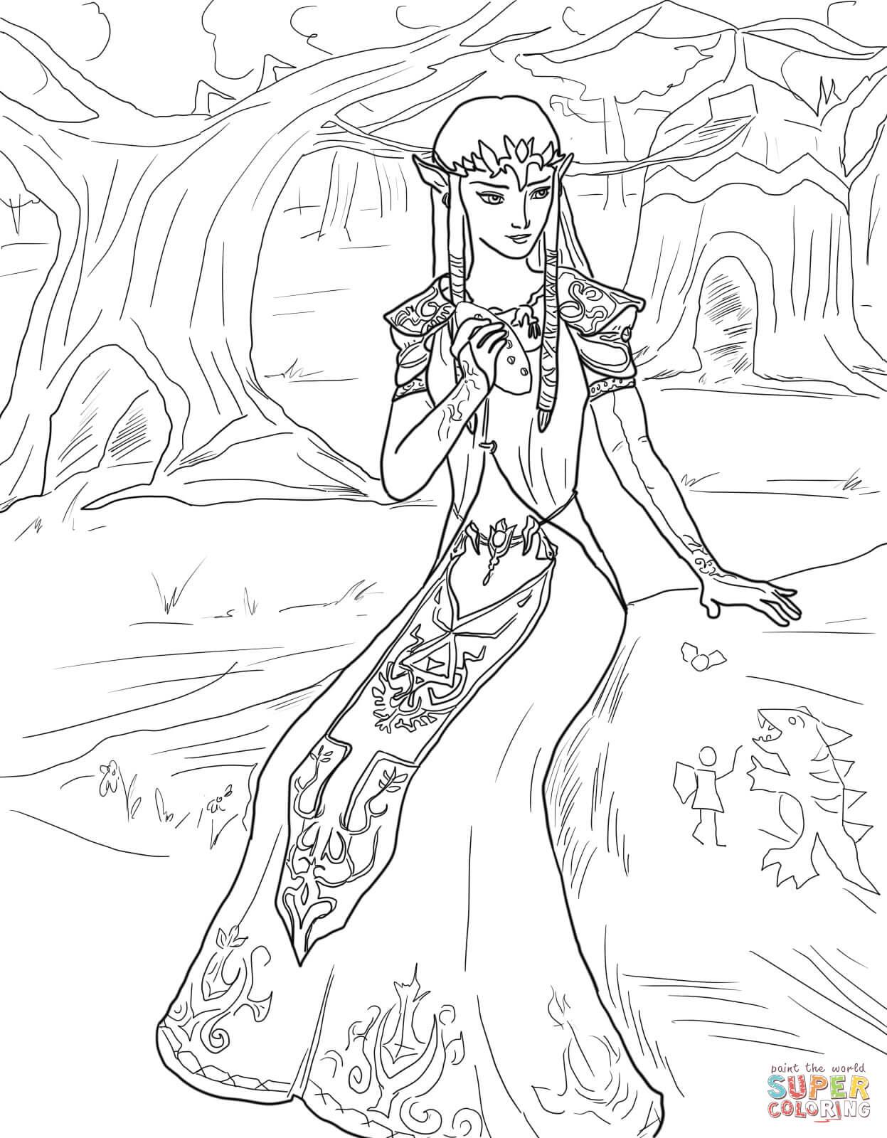 The Legend Of Zelda coloring #10, Download drawings