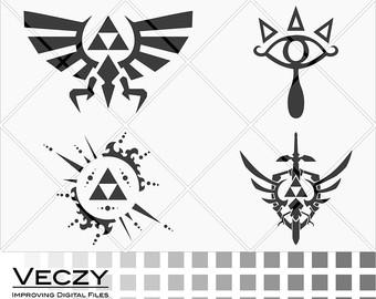 Zelda svg #6, Download drawings