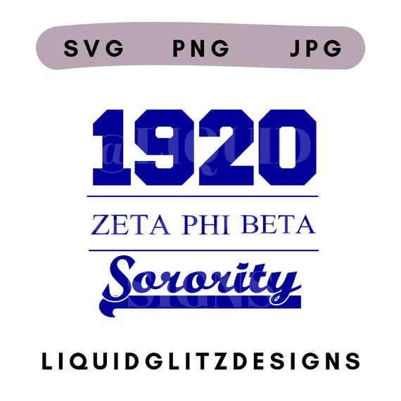 zeta phi beta svg #22, Download drawings