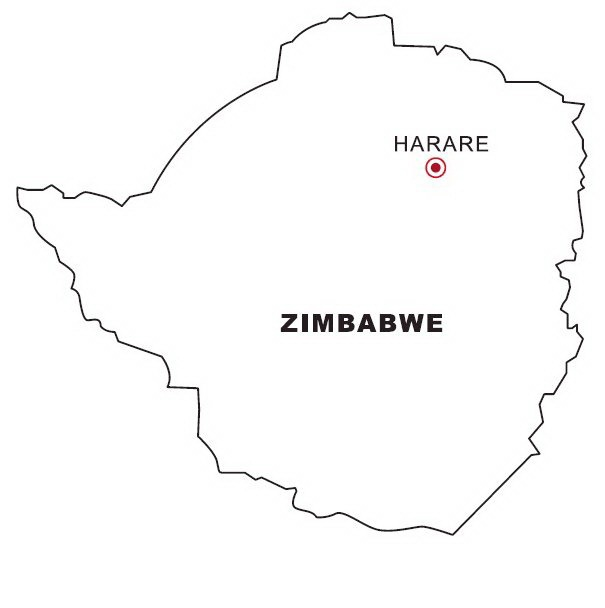 Zimbabwe coloring #11, Download drawings