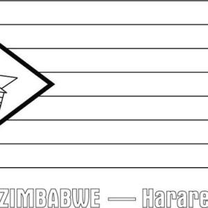 Zimbabwe coloring #12, Download drawings