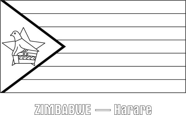 Zimbabwe coloring #1, Download drawings