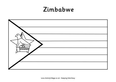 Zimbabwe coloring #6, Download drawings