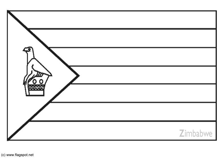 Zimbabwe coloring #2, Download drawings