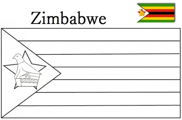 Zimbabwe coloring #5, Download drawings
