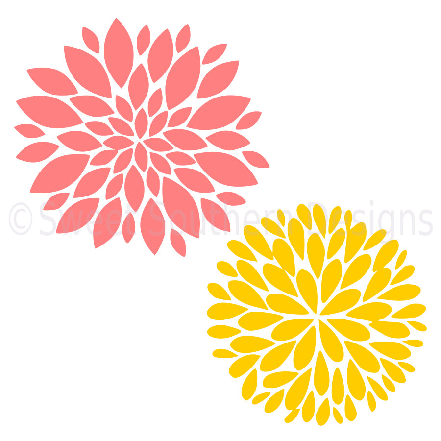 Zinnia svg #17, Download drawings